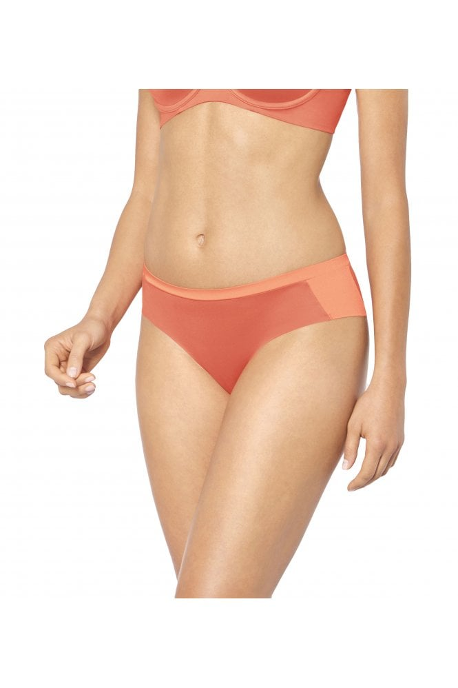 a6be177a3849c7 amazing body makeup soft touch hipster brief coral with triumph body make up  whp