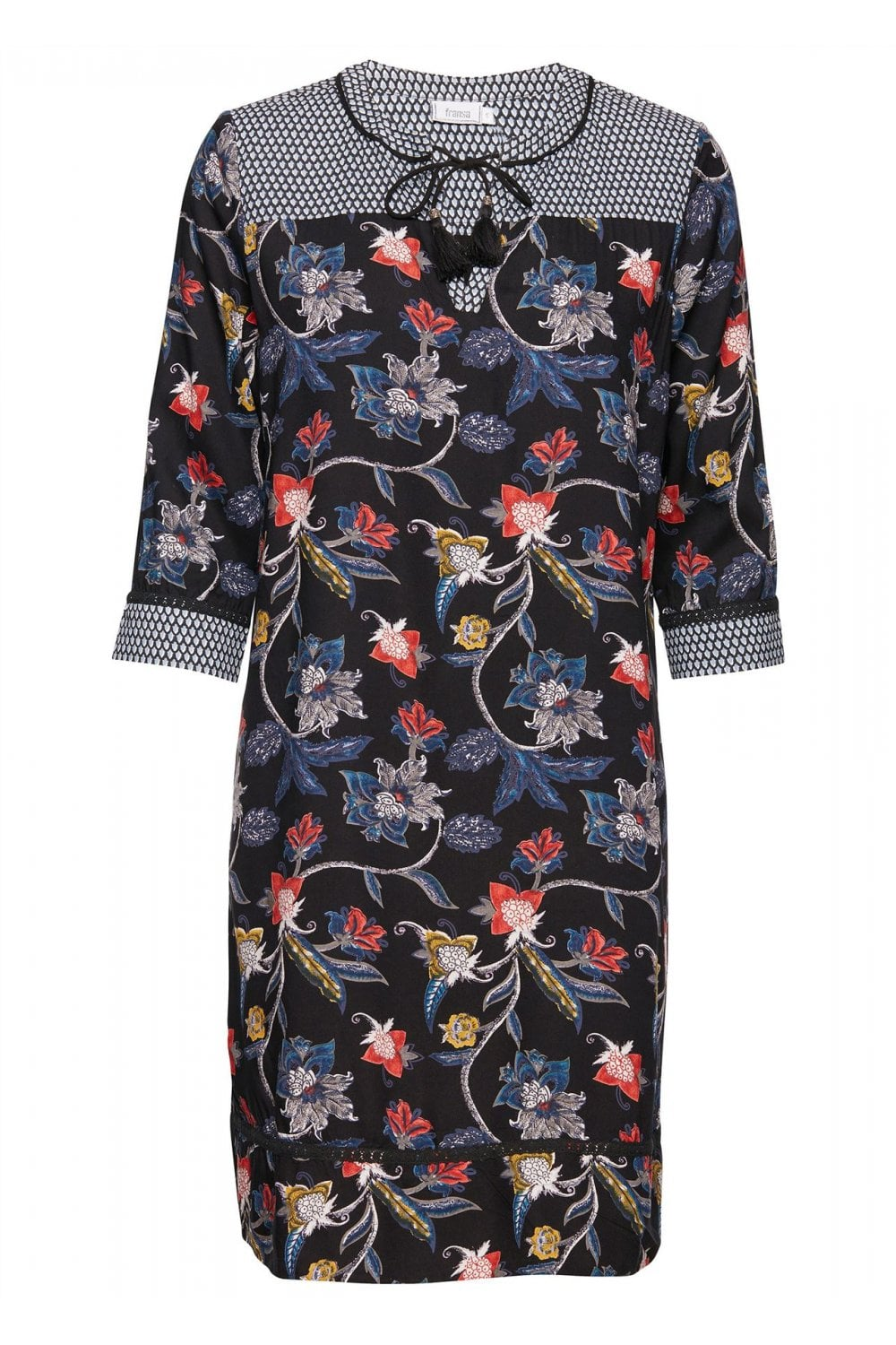 c5883c58a7b4 Fransa Isotta 1 Dress - Womenswear from Potters of Buxton UK