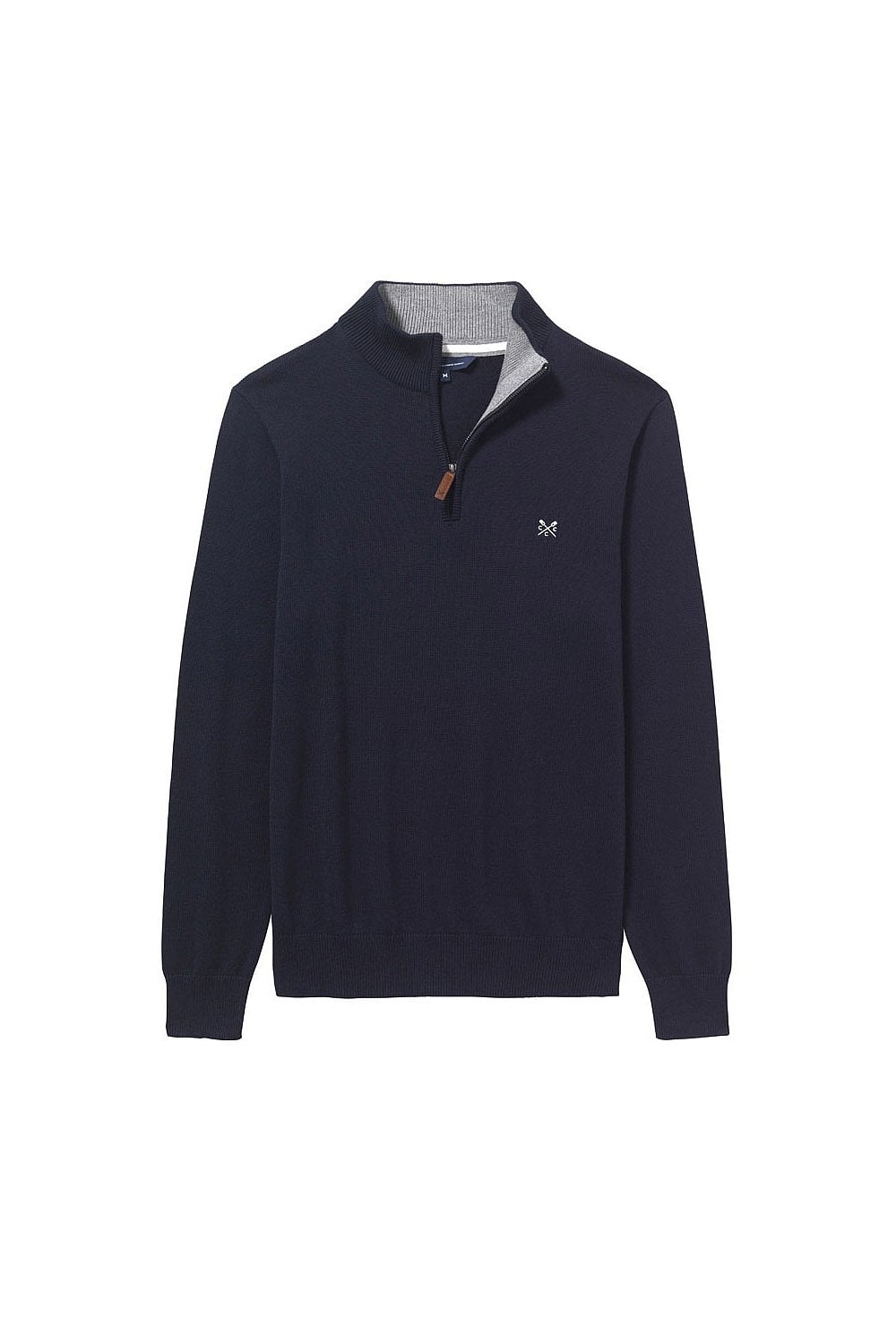 adccd1664e8a Crew Clothing Mens Classic Half Zip Jumper - Navy - Menswear from ...