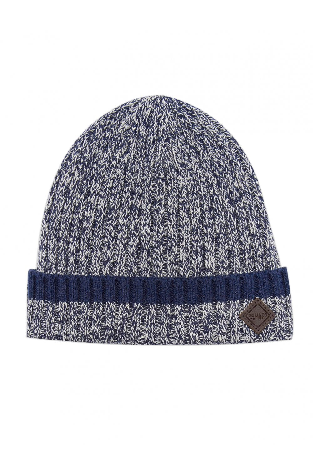 55c22b669d1327 Joules Mens Oarswell Knitted Hat - Navy/Cream - Menswear from ...