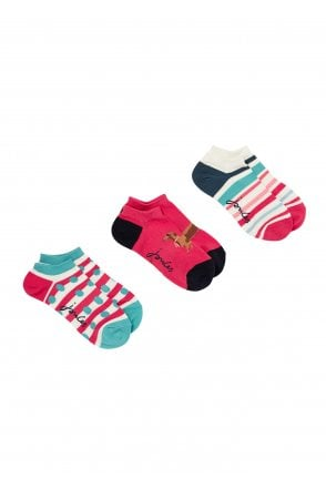 **FREE Uk Shipping** Y Joules Brilliant Bamboo 3 Pack Socks