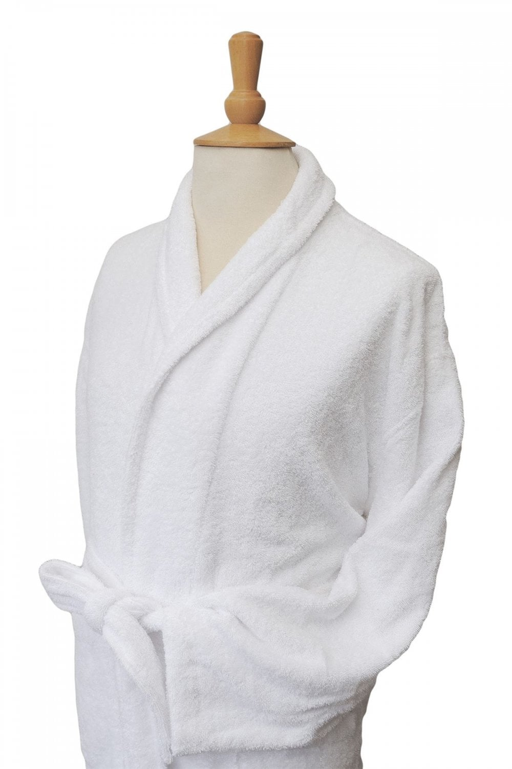 Bown of London Terry Towelling White Dressing Gown - Bath Robe - 100 ...