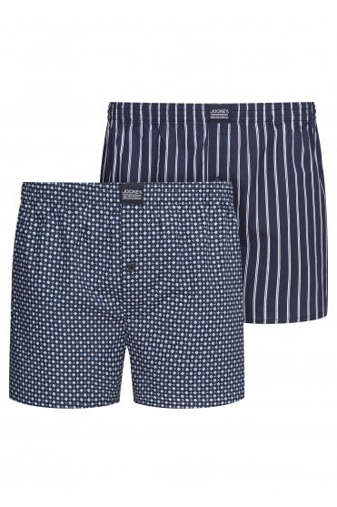 c84a69abc USA Originals Woven Boxers 2 Pack - Navy