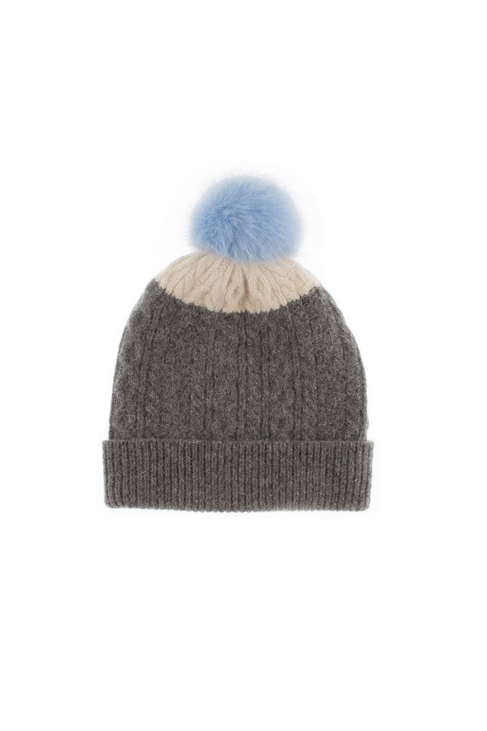 Dents Womens Cable Knit Hat with Pom Pom - Womenswear from Potters ... c694133db19