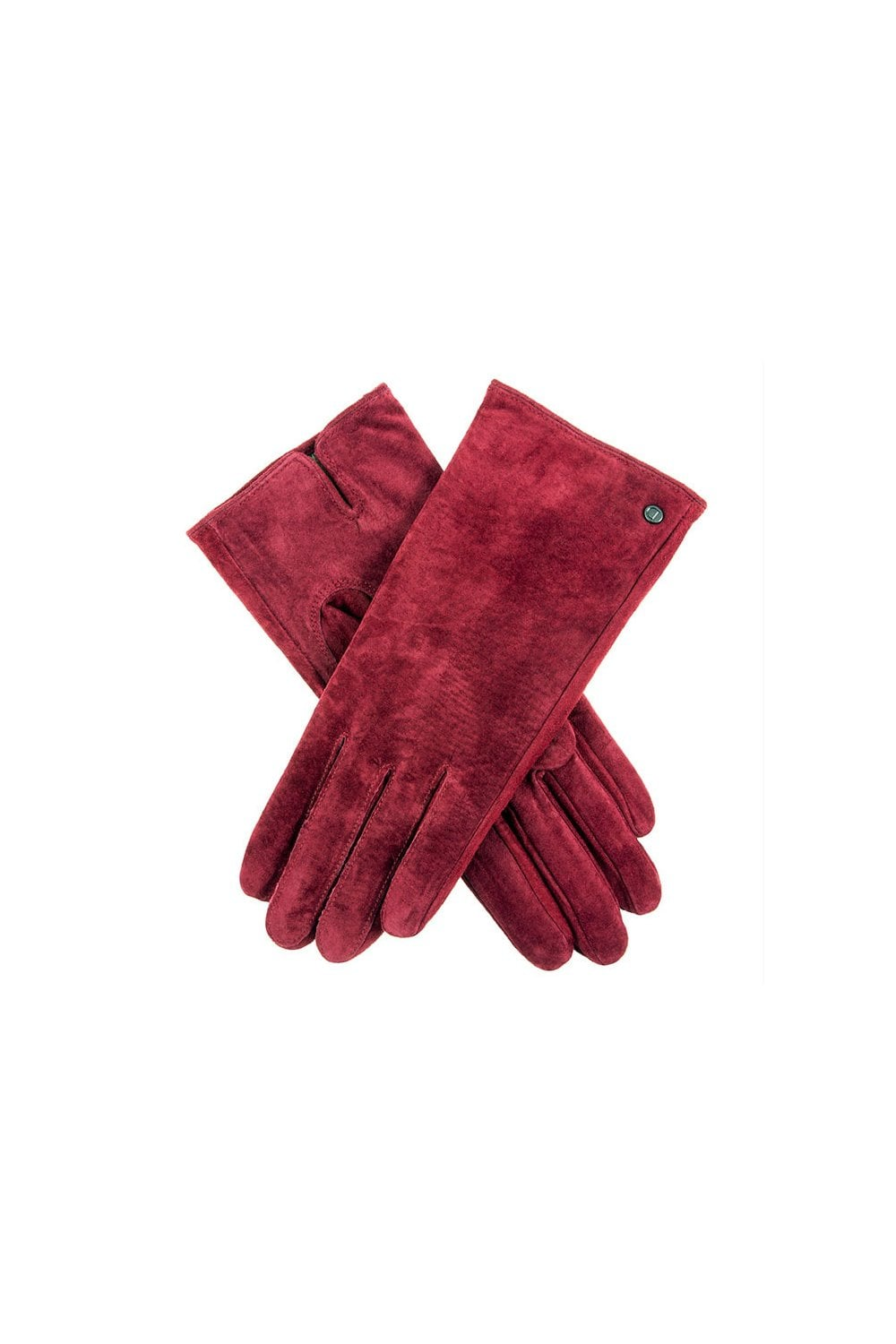 5fb141c5f08 Dents Womens Emily Plain Suede Gloves - Claret - Womenswear from ...