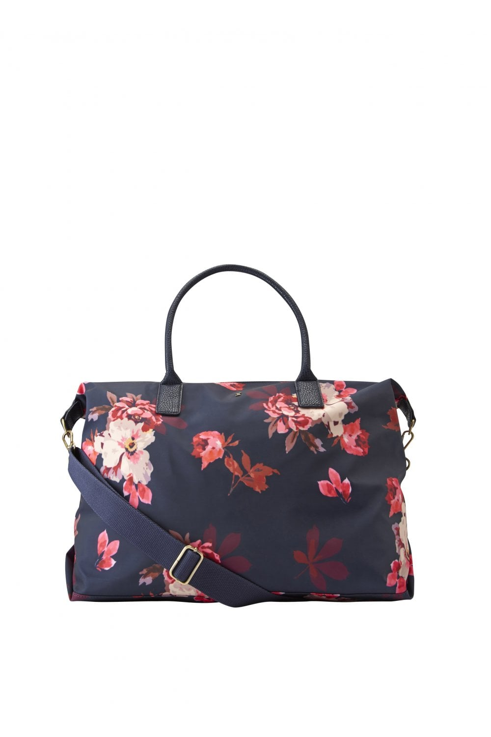 Womens Kembry Printed Canvas Overnight Bag - French Navy Bircham Bloom fc2eb50fba