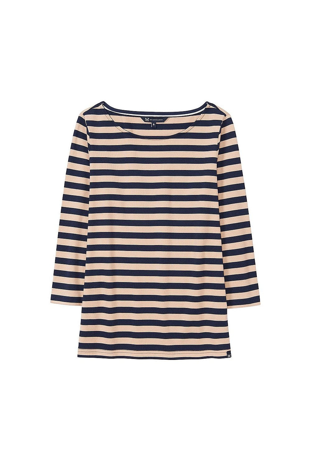 1847abaee1c2 Crew Clothing Womens Ultimate Breton - Navy/Almond - Womenswear from  Potters of Buxton UK