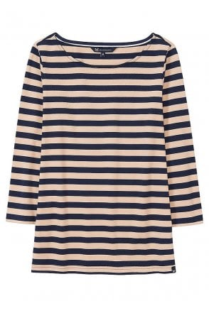 2d2cbad4e489 Crew Clothing Womens Ultimate Breton - Navy/Almond - Womenswear from ...
