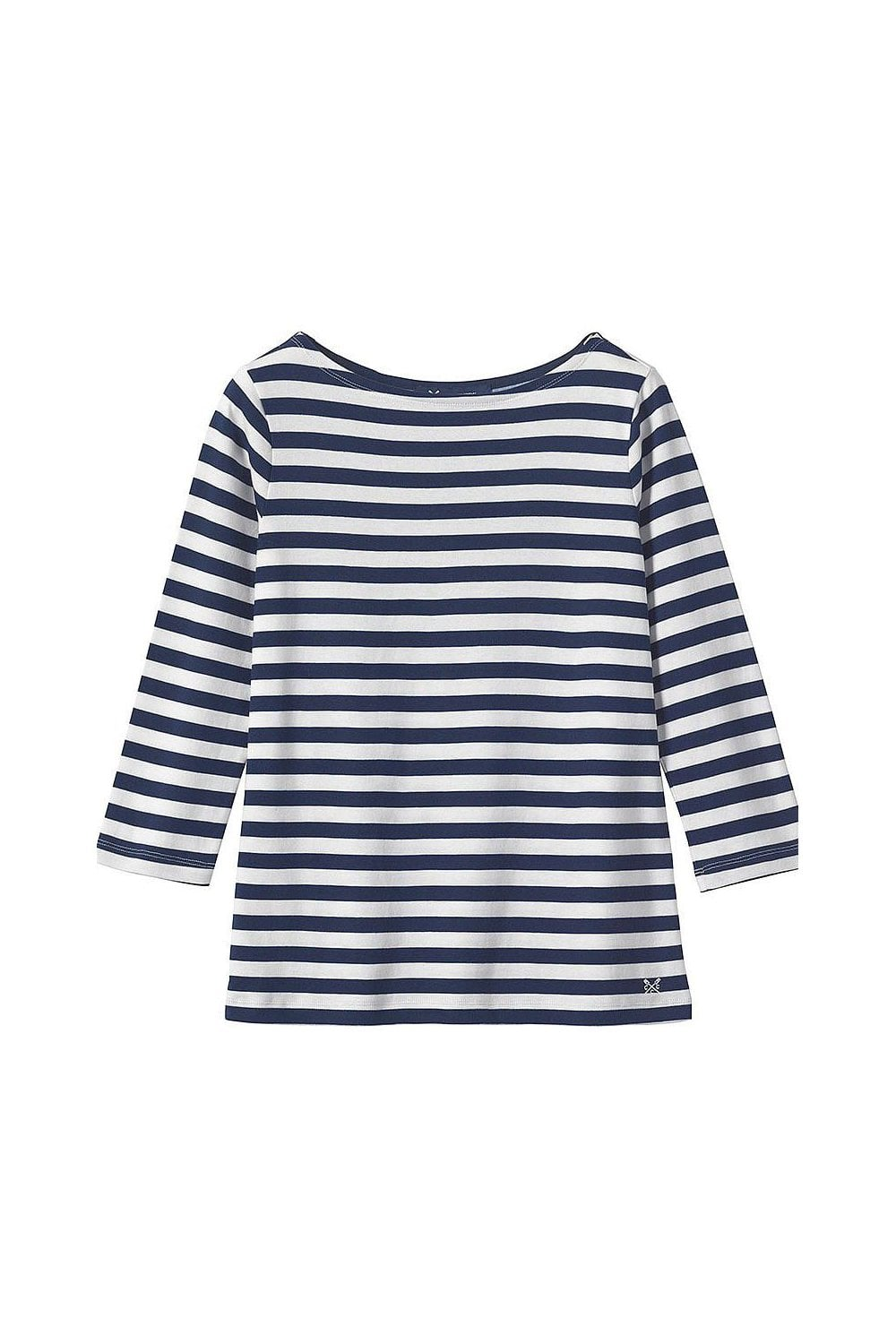 b18de9f13dba Crew Clothing Womens Ultimate Breton Top - Navy/White - Womenswear ...